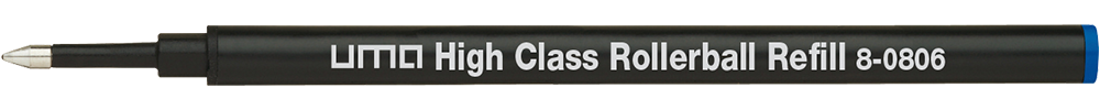 8-0806 uma High Class Rollerball Refill blue