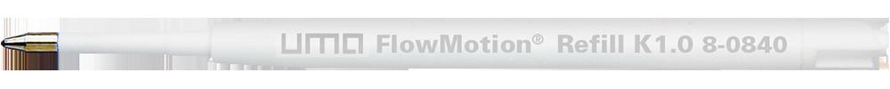 8-0840 uma FlowMotion® Refill K1.0 black
