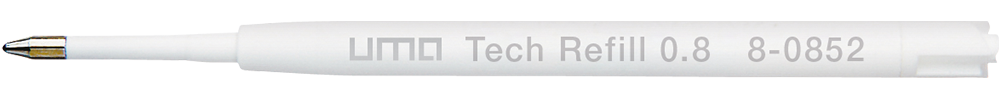 8-0852 uma Tech® Refill 0.8 blue