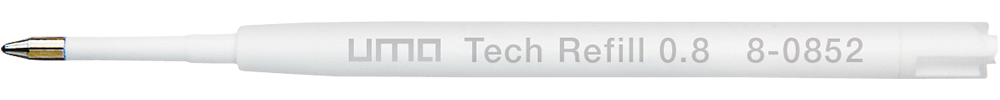 8-0852 uma Tech® Refill 0.8 black