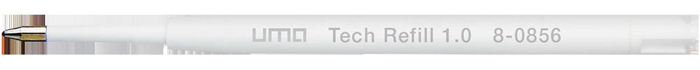 8-0856 uma Tech® Refill 1.0 black