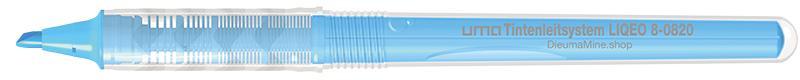 8-0820 uma Tintenleitsystem LIQEO Highlighter neonblau